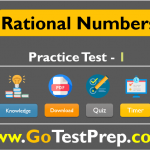 Rational Numbers Practice Test Question Answers [PDF]