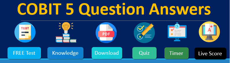 COBIT 5 Question and Answers PDF