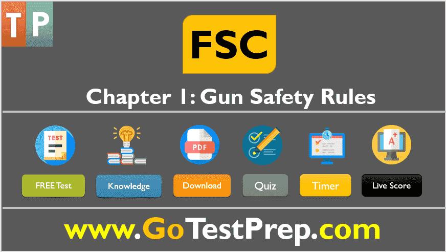 FSC Test (California Gun Test Quiz) Free Online