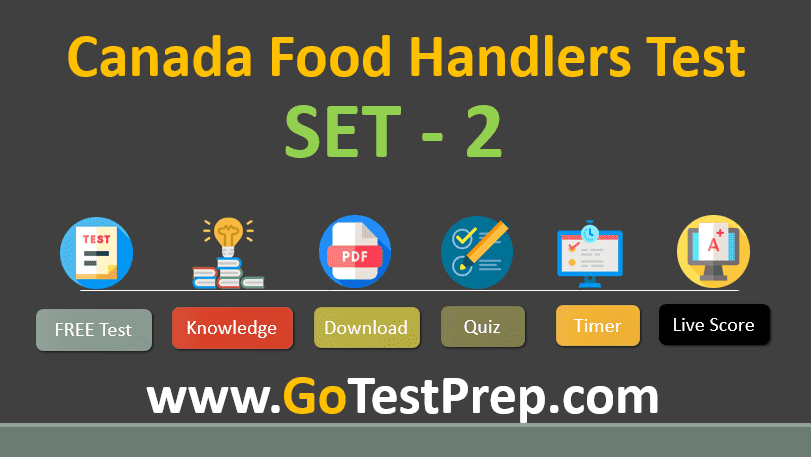 Food Handlers Test Question Answers Online Quiz