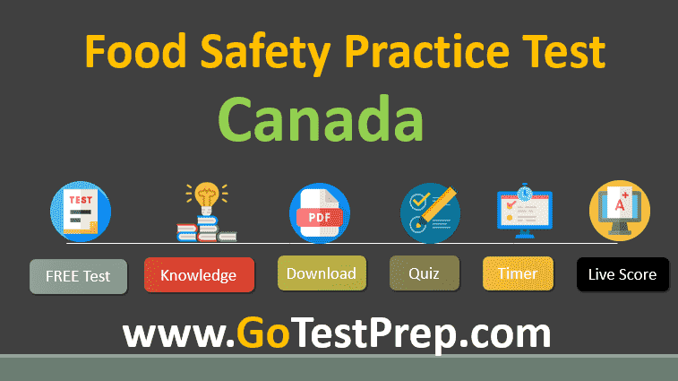 Food Safety Practice Test Canada 2020 Questions and Answers