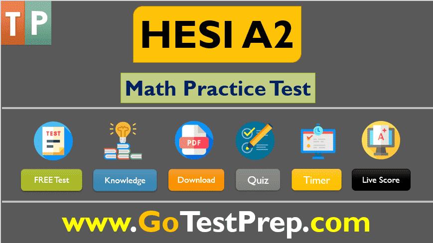 HESI A2 Math Practice Test 2020 Free Printable PDF