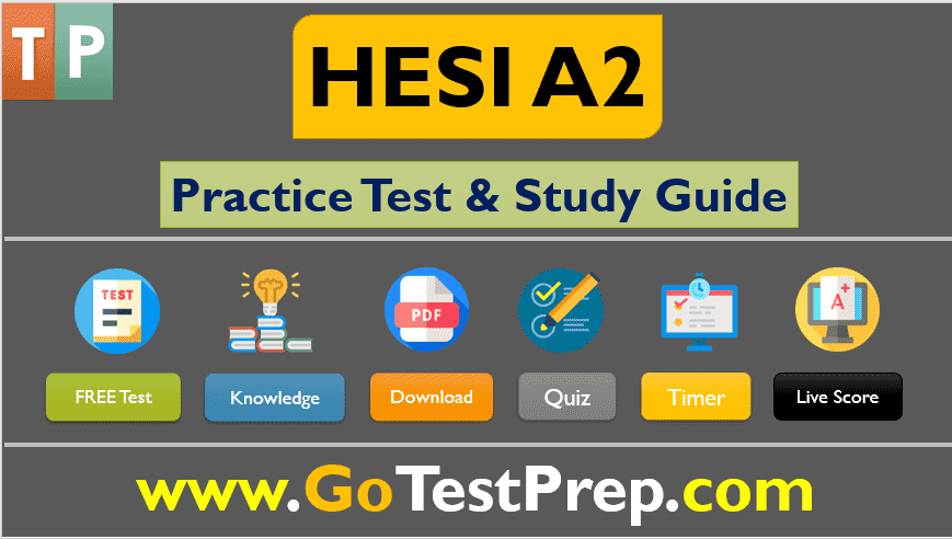 HESI A2 Practice Test 2021 with Study Guide [Free PDF]