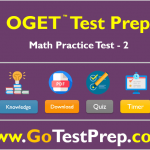OGET Math Practice Test 2 : Question Answers PDF