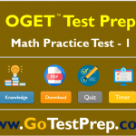 OGET Math Practice Test 2020 Question Answers [PDF]