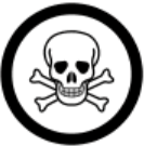 Poisonous and Infectious Material WHMIS Symbols