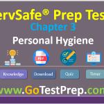 ServSafe Practice Test Chapter 3- Personal Hygiene (Safe Food Handler)