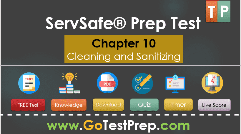 ServSafe Practice Test on Cleaning and Sanitizing Question Answers