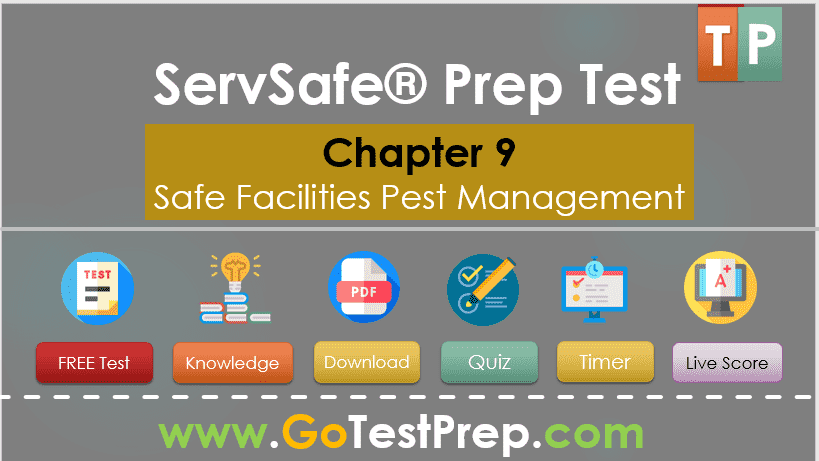 Free ServSafe Practice Test 2020 on Chapter 9