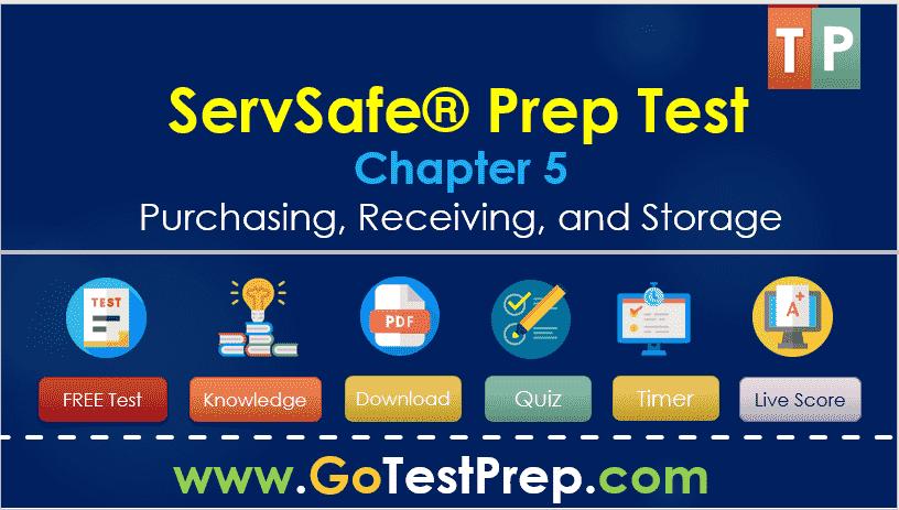 ServSafe Test (Chapter 5) Practice Test Quiz FREE