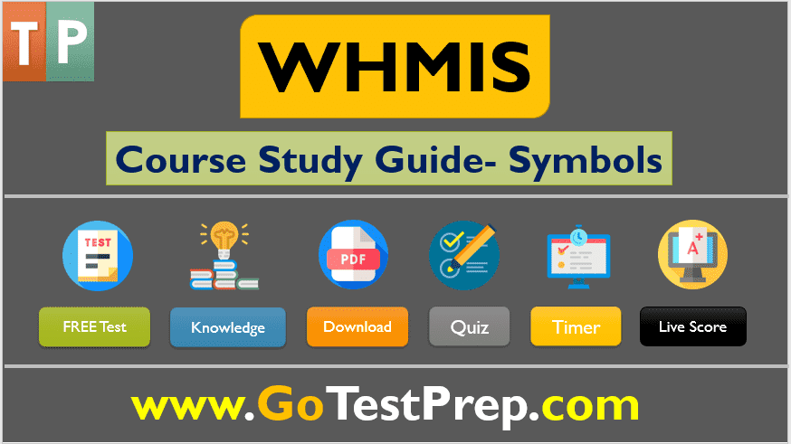 WHMIS Free Course Study Guide on Symbols