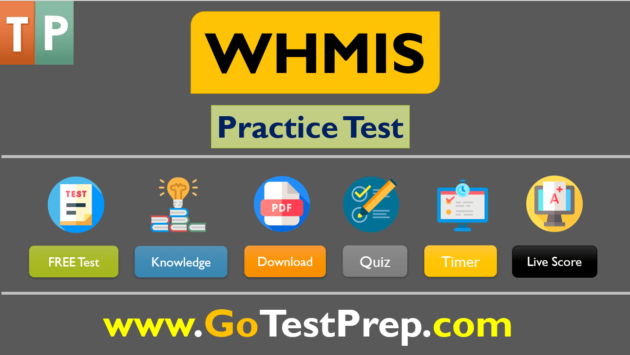 WHMIS Practice Test 2020 Quiz Question Answer