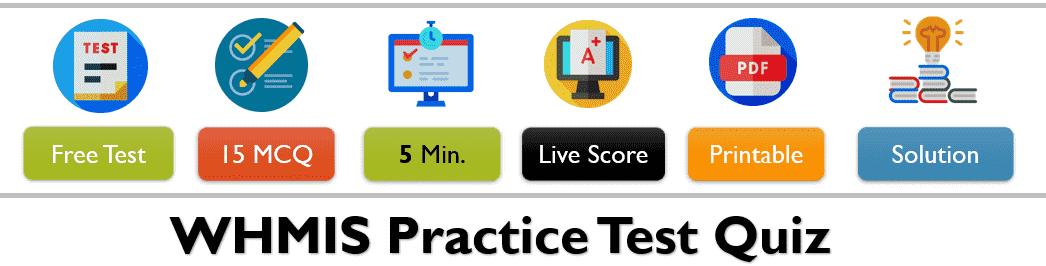 WHMIS Practice Test Quiz Free