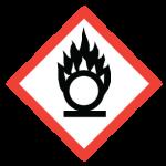 WHMIS flame_circle symbol