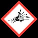 WHMIS exploding bomb Symbol