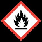 WHMIS flame Symbol