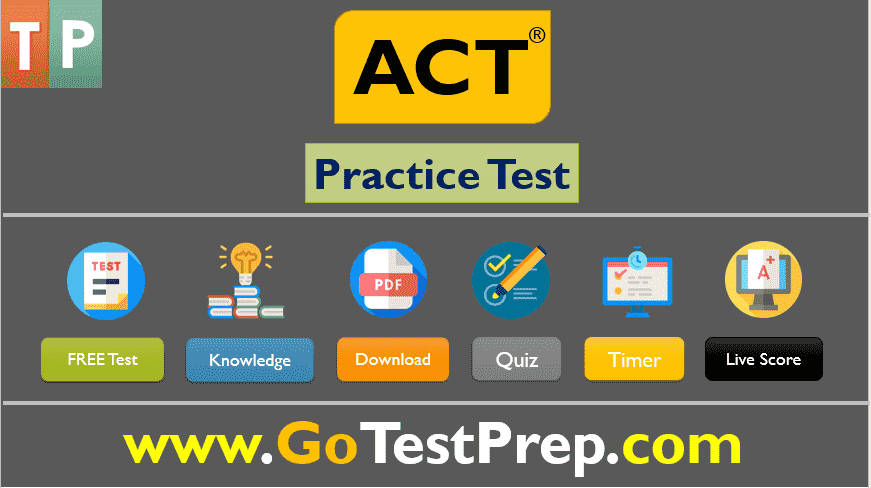 Free ACT Full Practice Test 2020 PDF