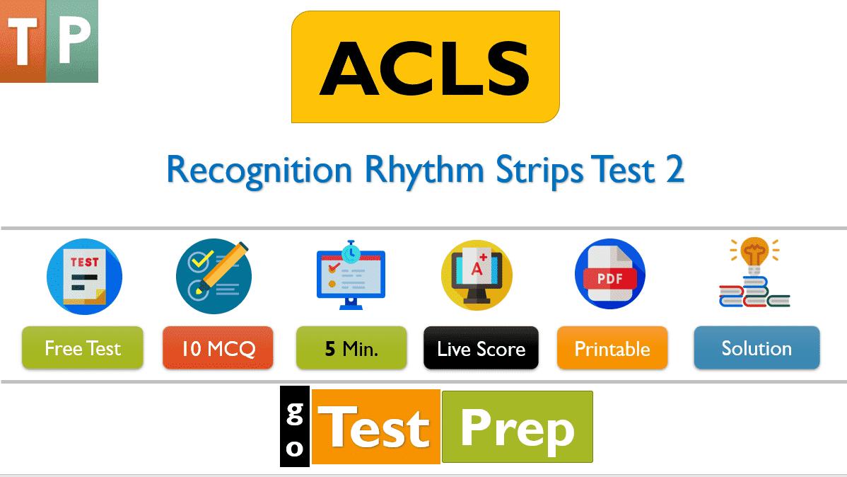 ACLS Rhythms Practice Test 2020 Recognition Rhythm Strips [PDF]