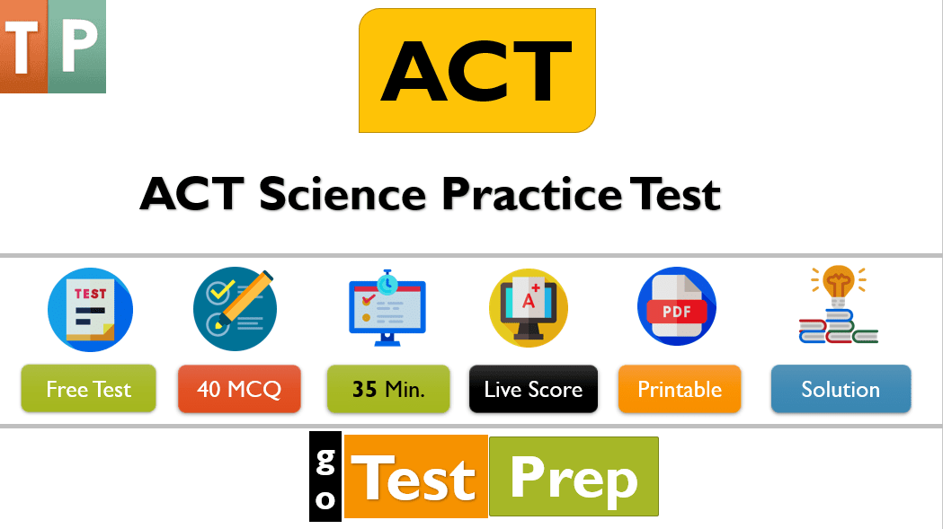 ACT Science Practice Test 2020 [PDF] with answers and solution