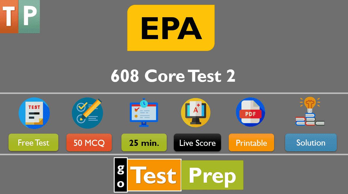 EPA 608 Exam Test Free