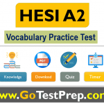 HESI A2 Vocabulary Practice Test 2020 with Grammar [PDF]