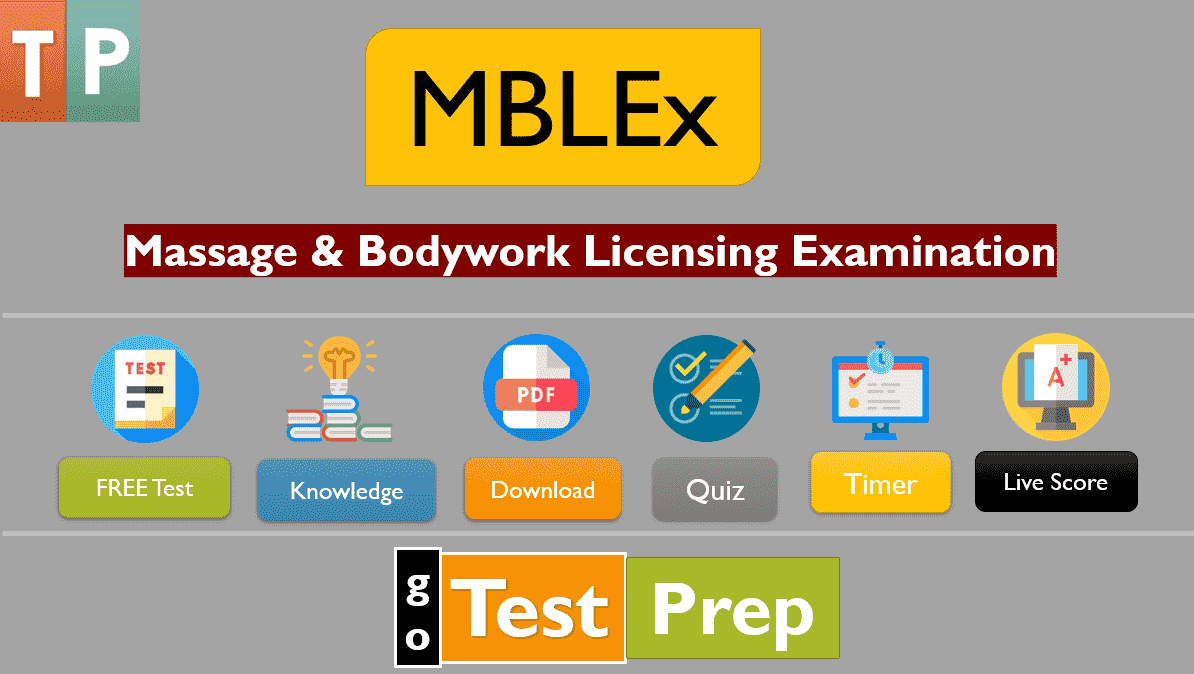 MBLEx Exam and Study Guide 2020 Massage & Bodywork Licensing Examination