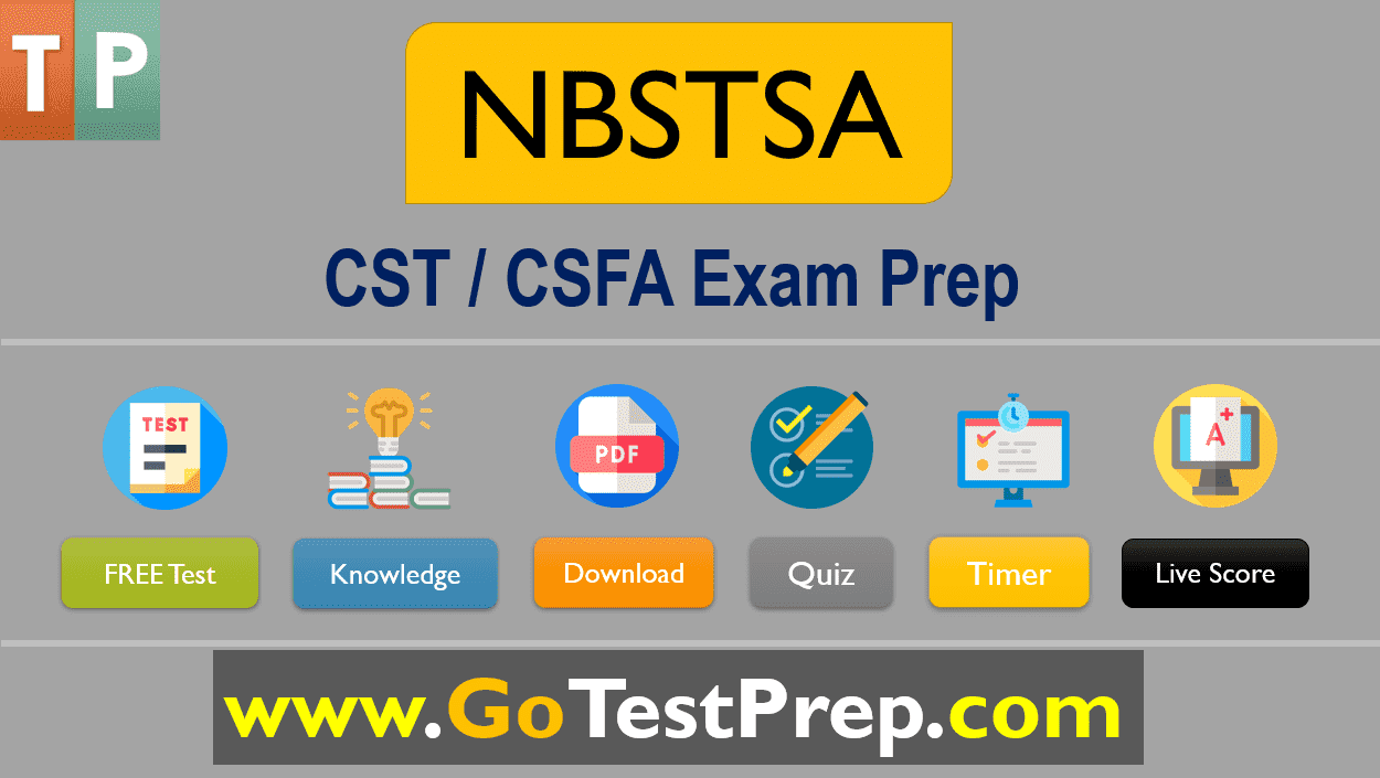 NBSTSA Practice Test 2020 Free CST and CSFA Exam Prep