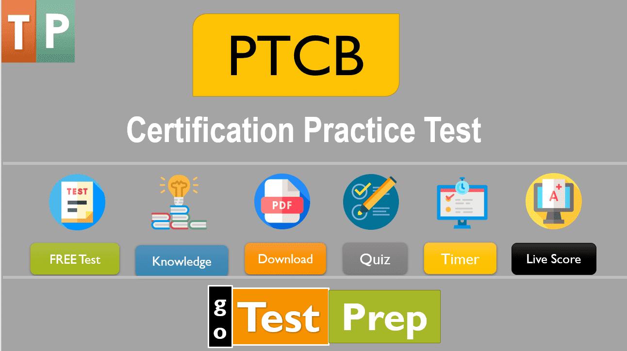 PTCB Certification Practice Test PDF