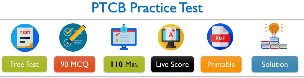 PTCB Practice Test 2019-2020 Free PDF