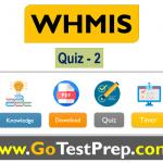 WHMIS Quiz Answers 2020 (Canada, Ontario)