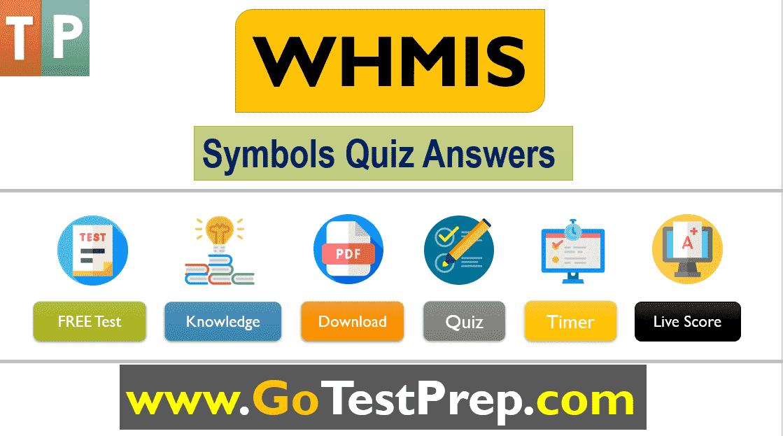 WHMIS Symbols Quiz Question Answers 2020 Online