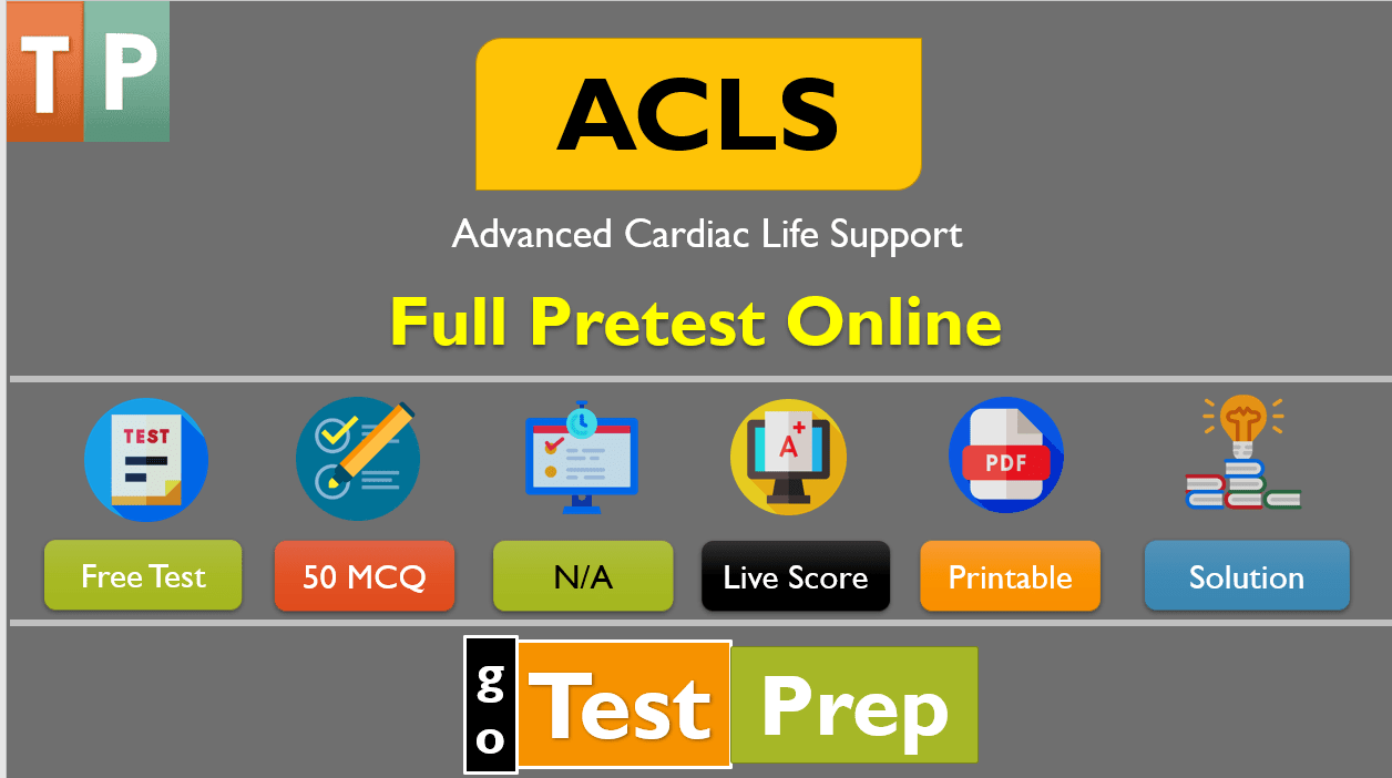 ACLS Pretest Questions and Answers 2020 (Full Practice Test)
