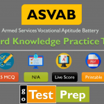 Free ASVAB Word Knowledge Practice Test 2020 PDF