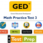 GED Math Practice Test with Answers 2020