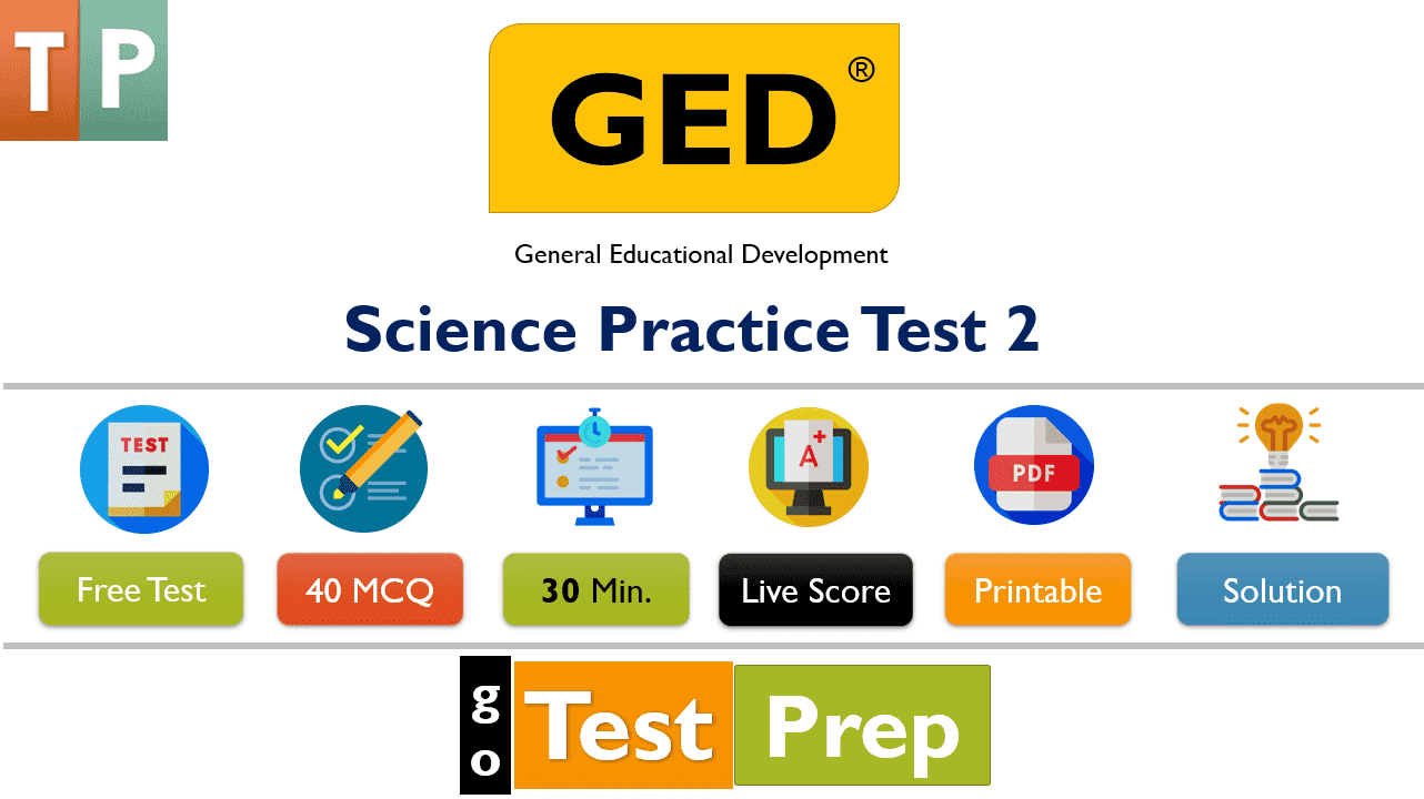 Free PDF GED Science Test 2020