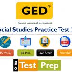 GED Social Studies Practice Test 2020 PDF