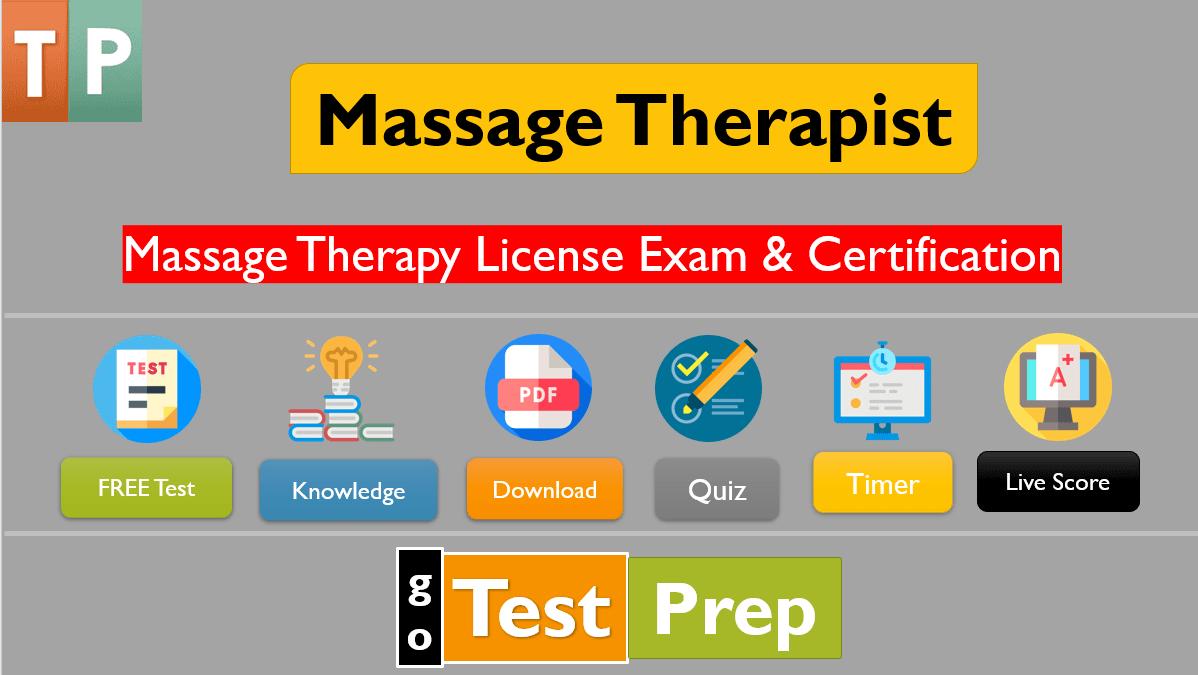 Massage Therapist Exam 2020