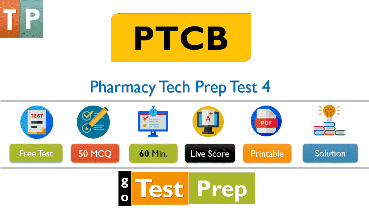 Pharmacy Tech Prep Test 2020 Free (50 Question Answers)