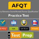 AFQT Practice Test 2021 Free Printable PDF with answers