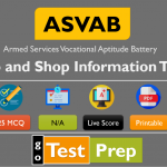 ASVAB Auto and Shop Information Practice Test PDF