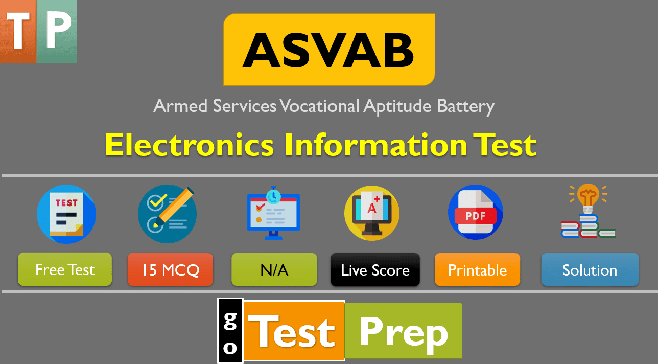 ASVAB Electronics Information Practice Test 2020 Question Answers Free