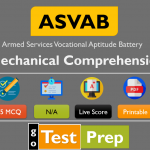 ASVAB Mechanical Comprehension Practice Test 2021 (Free PDF)