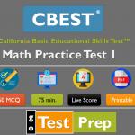 CBEST Math Practice Test 2020