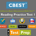 CBEST Reading Practice Test 2020 Free Full Length Online Test