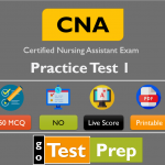 CNA Practice Test 1 (50 Questions Answers)