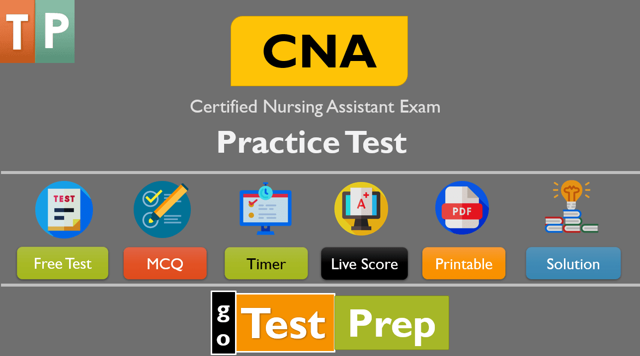 CNA Practice Test 2020 Certified Nursing Assistant Exam Study Guide (Free PDF)