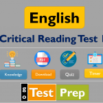 Free Critical Reading Practice Test 2020