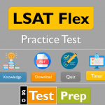 LSAT Flex Practice Test 2021 (LSAC) and Study Guide Online