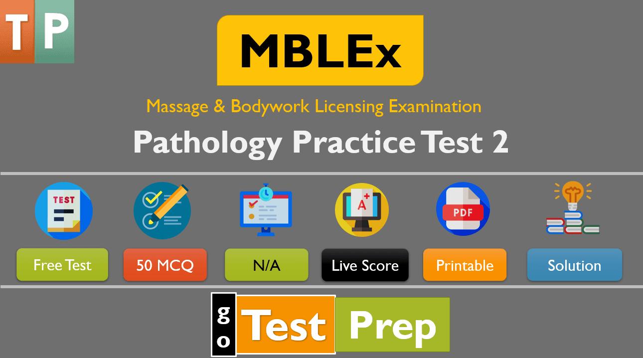 MBLEx Pathology Practice Test Questions Answers Free