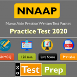 NNAAP Practice Exam 2020 (Nurse Aide Practice Written Test Packet) PDF